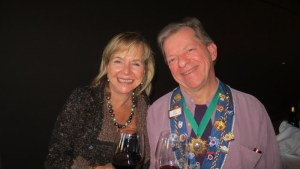 Dame Susan Schuler and Chargé de Presse Provincial Midwest J.T. Mayer