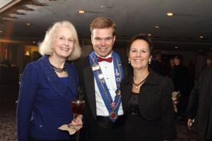 Meredythe Daley, Vice Chancelier-Argentier Dave Szkutak, Joan Szkutak
