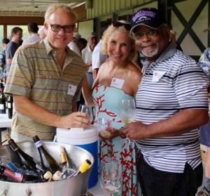 Larry Mosteller, Kathy Comisar, Keevin Davis