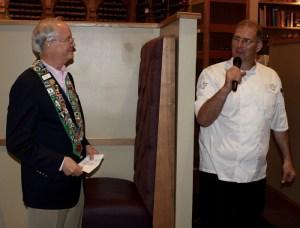 Bailli George Elliott, Chef/Owner Shawn McCoy