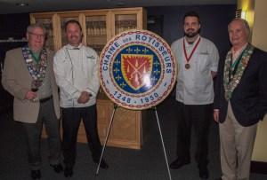Clint Haynes, Alan Neace, Gold Medalist Nick Ellison, George Elliot
