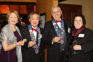Lindy Miller, Chuck Hong, Mike Monnin and Mary Horn