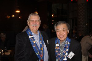 Vice Echanson Mike Monnin, Vice Conseiller Gastronomique Chuck Ho