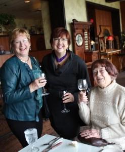 Ann Grubb, Dame Edith Yakutis, Carolyn Eckerle