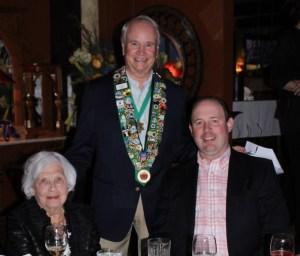 Frances Wireman, Bailli George Elliott, Chevalier Kelly Fulmer