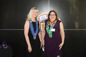 Vice Chargée de Médias Sociaux Sue Flischel, Bailli Provincial Midwest Renee Wilmeth