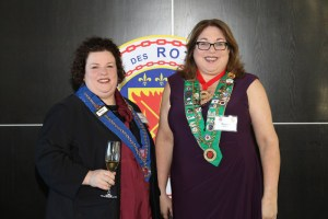 Vice Echanson, Société du Vin, Mary Horn, Bailli Provincial Midwest Renee Wilmeth