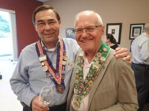 Maître Hotelier Dan Cayse, Chambellan Provincial Irwin Weinberg