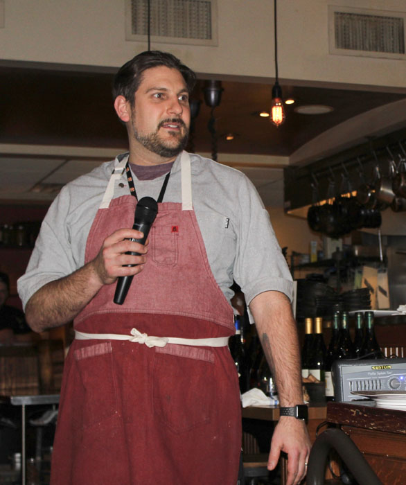 Chef/Owner Brad Bernstein