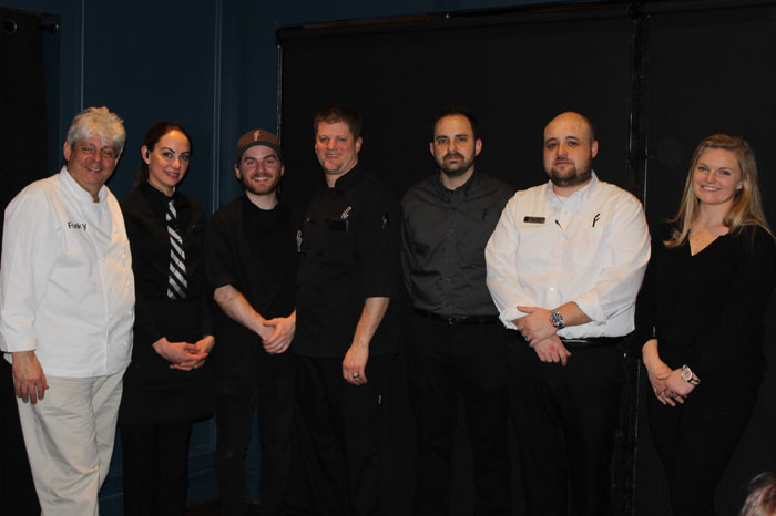 "Chef/Owner Michael ""Funky"" Forgus and team"