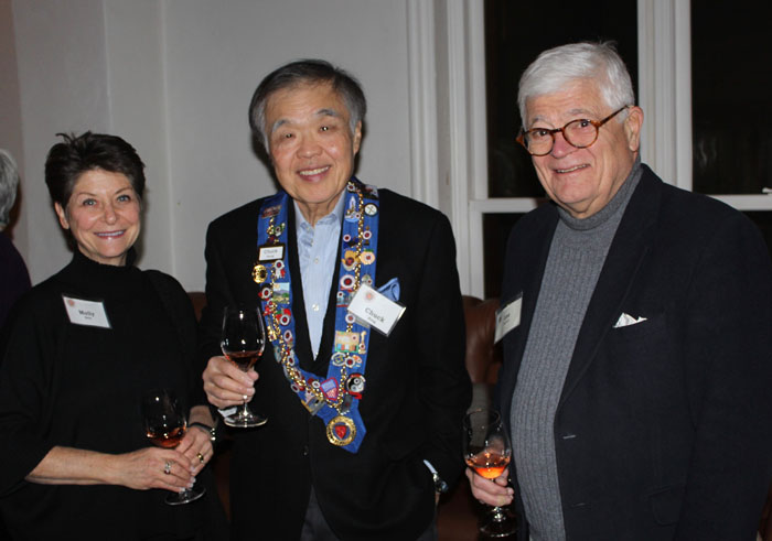 Molly Katz, Chuck Hong, Lee Parrott
