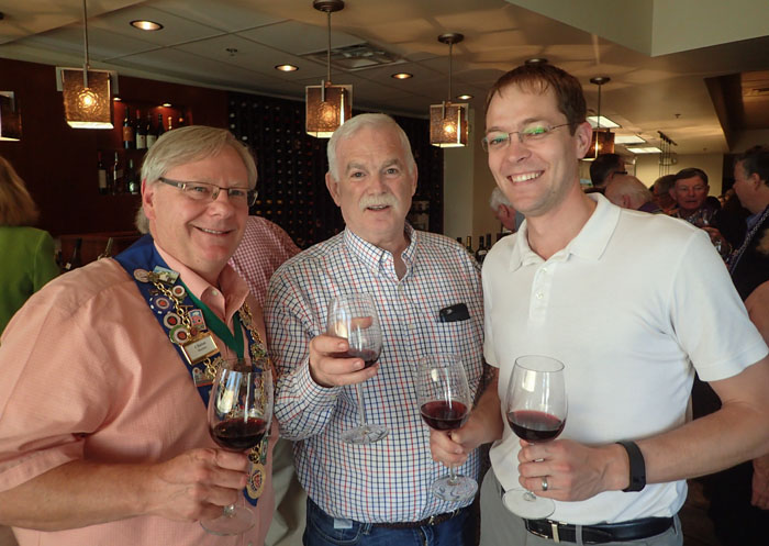 Clint Haynes, Peter Sparber, Pat Harrell