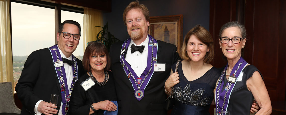 Induction Dinner at the Metropolitan Club – May 19, 2019