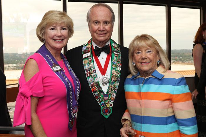 Pamela Reis, George Elliott, Barbara Weyand