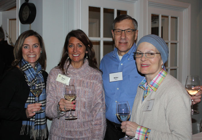 Brandy Steinhauser, Terri Makin, Mike Steur and Beth Steur