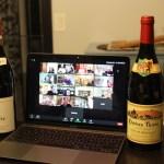 Virtual dinner gathering