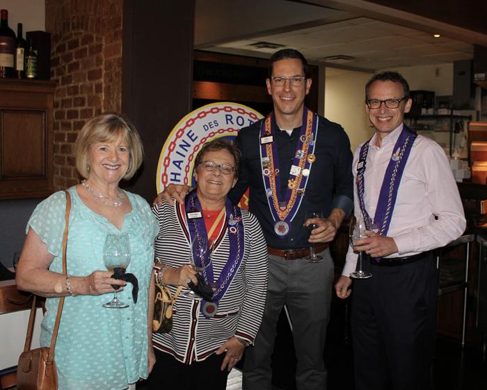Mary Ellen Wilson, Cindy Hughes, Jonathan Powell, and Scott Provancher