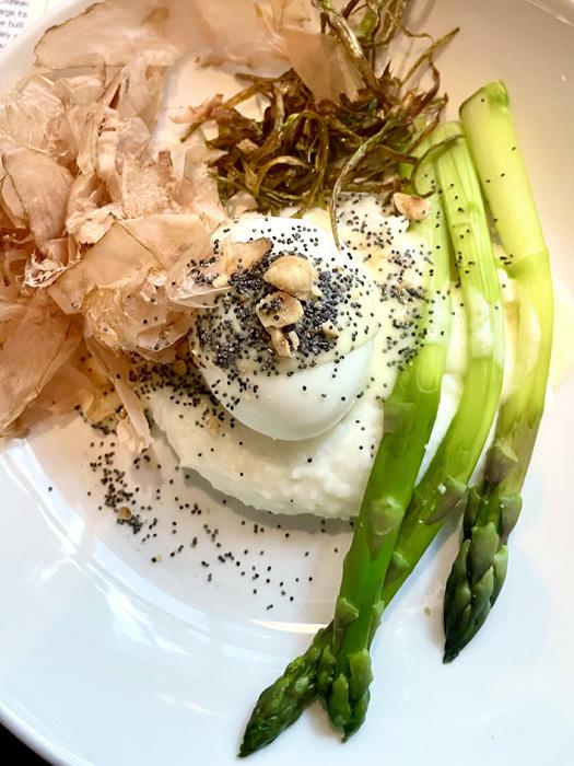Egg Polenta Asparagus