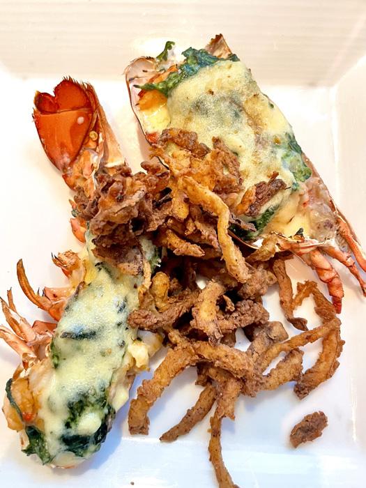 Lobster Rockefeller