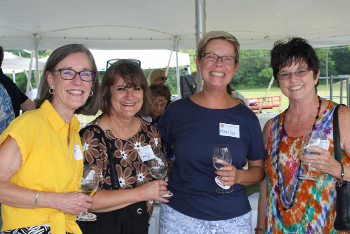 Janet Reynolds, Carol White, Marilyn Buckley, Carol Lemy