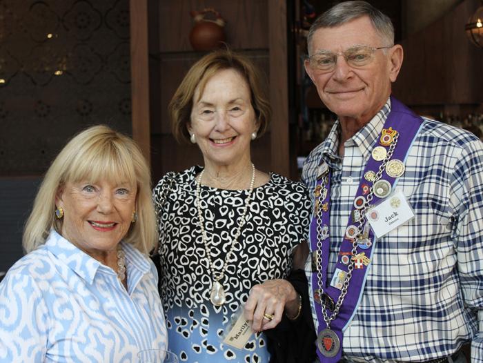 Barbara Weyand, Marilyn & Jack Osborne