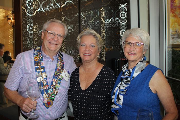 Clint Haynes, Paula Weinkoop, and Jean Haynes
