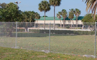 Commercial Industrial Chain Link Fence