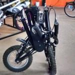 Folding bike – closed