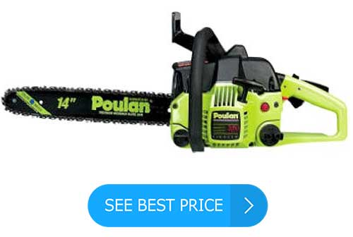 Poulan P3314 14-Inch 33cc 2-Cycle Gas-Powered Chain Saw Review
