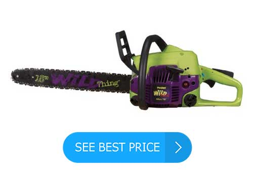 Poulan P4018WT Wild Thing 18-Inch 40cc 2-Cycle Gas Powered Easy Start Chain Saw Review