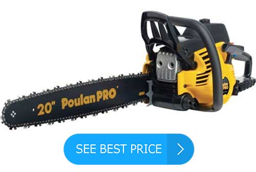 Poulan Pro PP5020AV 20-Inch 50cc 2 Stroke Gas Powered Chain Saw Review