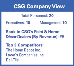 csg snapshot the tile shop newsroom chain store guide