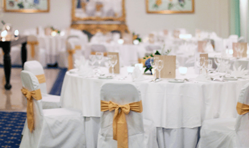 hire chair covers tablecloths napkins for weddings or events