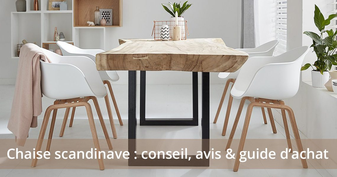 chaise scandinave guide deco