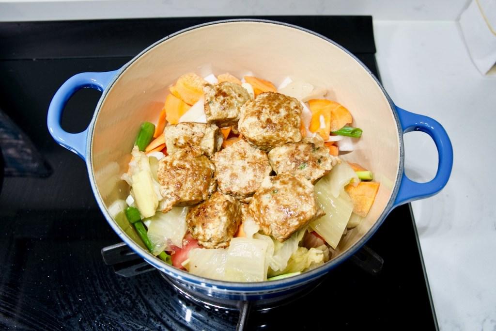 老少咸宜的「酸白菜肉丸湯」 3