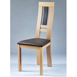 chaise de salle a manger en bois alba