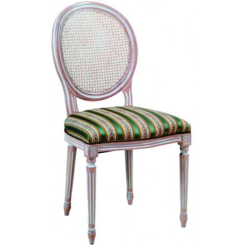 chaise de style louis xvi dos canne 927