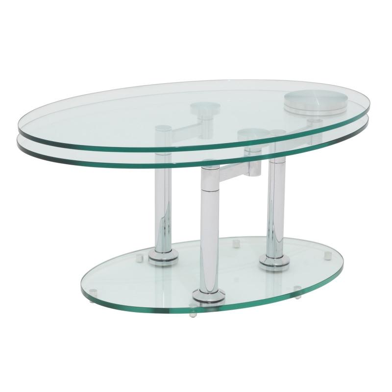 table basse ovale en verre gentle05