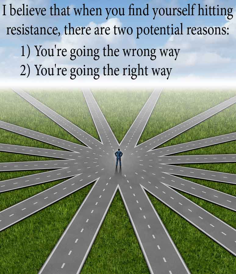 The Path Of Resistance