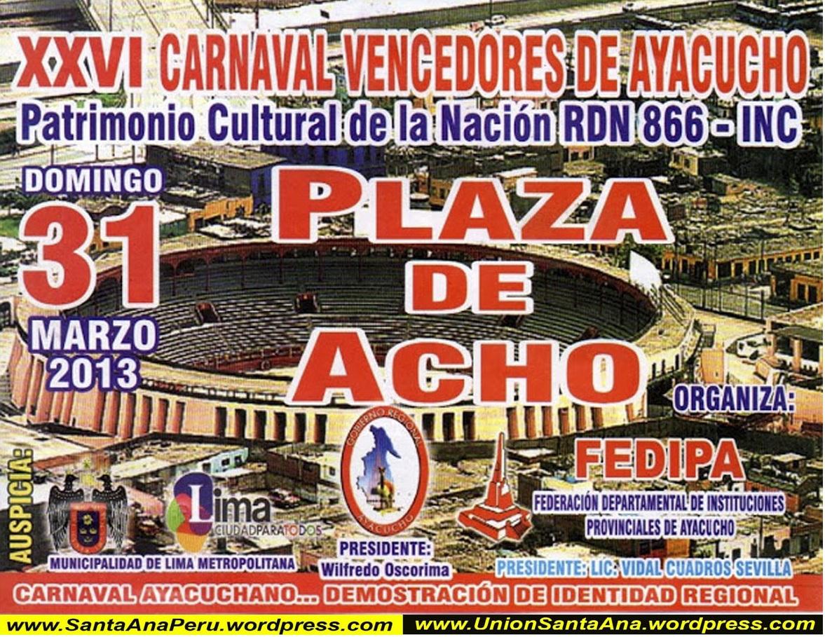 Carnaval ayacuchano en Lima – Chalena Vásquez (1998)