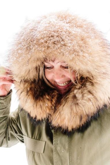 Menschen Winter
