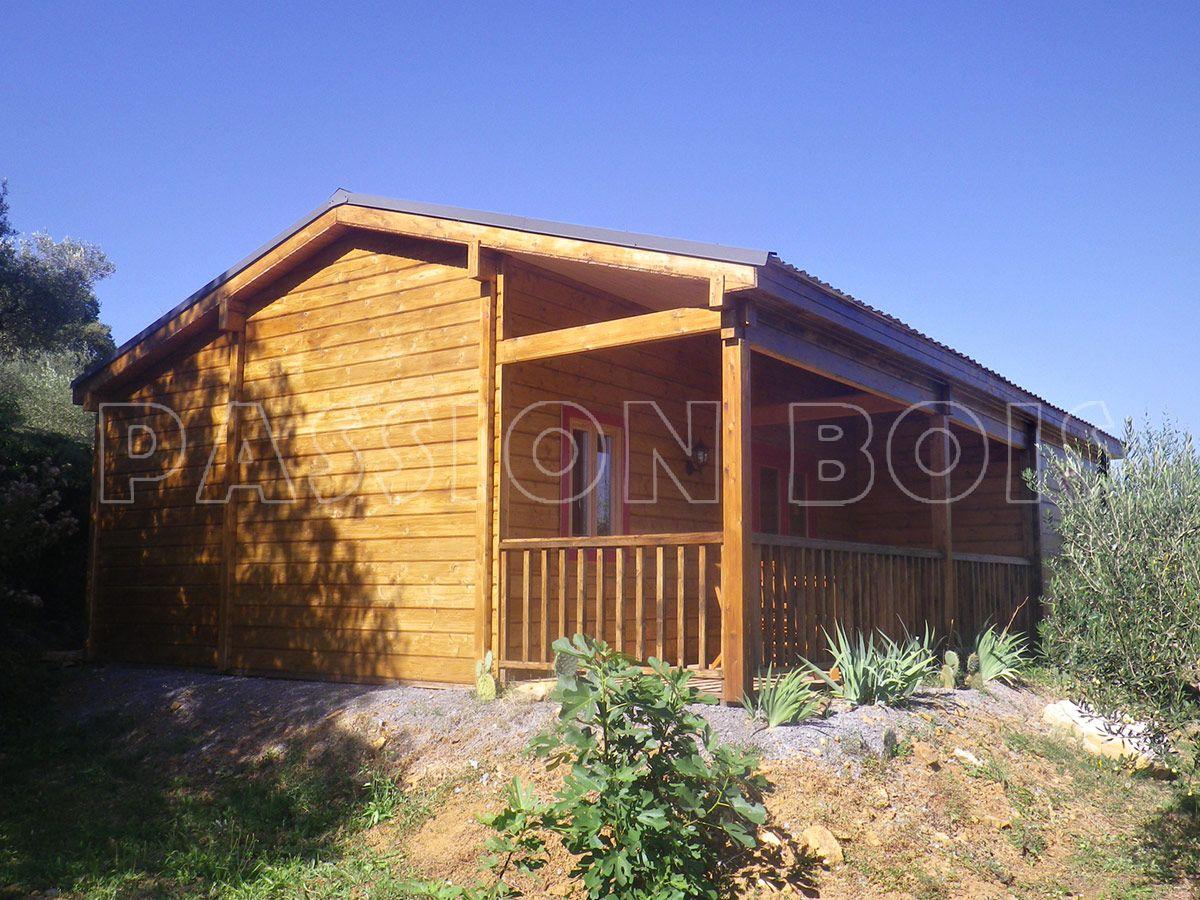 maison bois et chalet bois modeles de