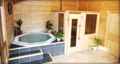 Sauna et Jacuzzi Hotel Chalet Philibert Morzine