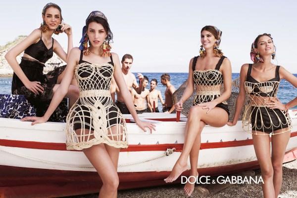 Dolce & Gabanna Bianca Brandolini, Balti Bianca...