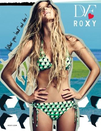DVF loves Roxy