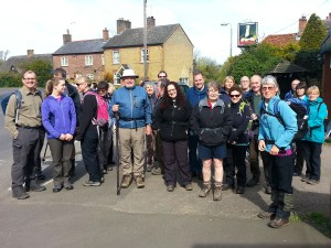 Walkers ready to Beat the Bounds