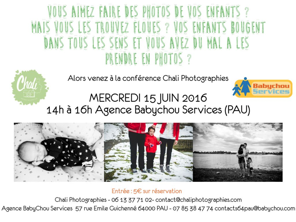 conference photographe pau