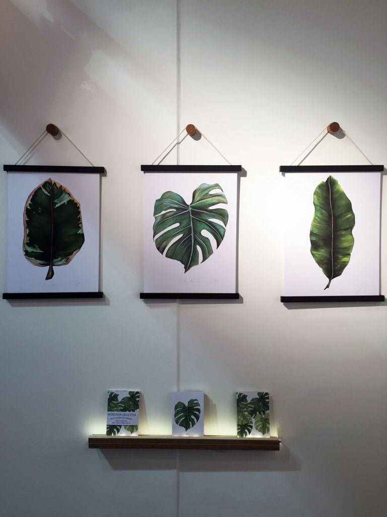 Botanics at Top Drawer / London Design Festival: Dollybirds Art prints and notebooks.