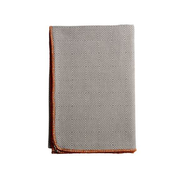 Arkan Luxury Cotton Throws - Dove Grey