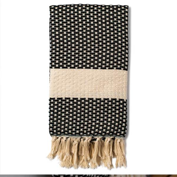 Turkish beach towel, Belgin in taupe